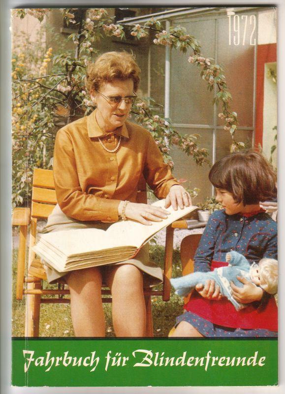 Jahrbuch Blindenfreunde 1972 Blindheit