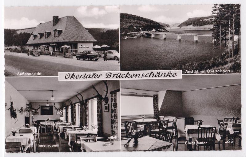 AK Schulenberg Okertaler-Brückenschänke Geschw. Thiele Mehrbildkarte ...