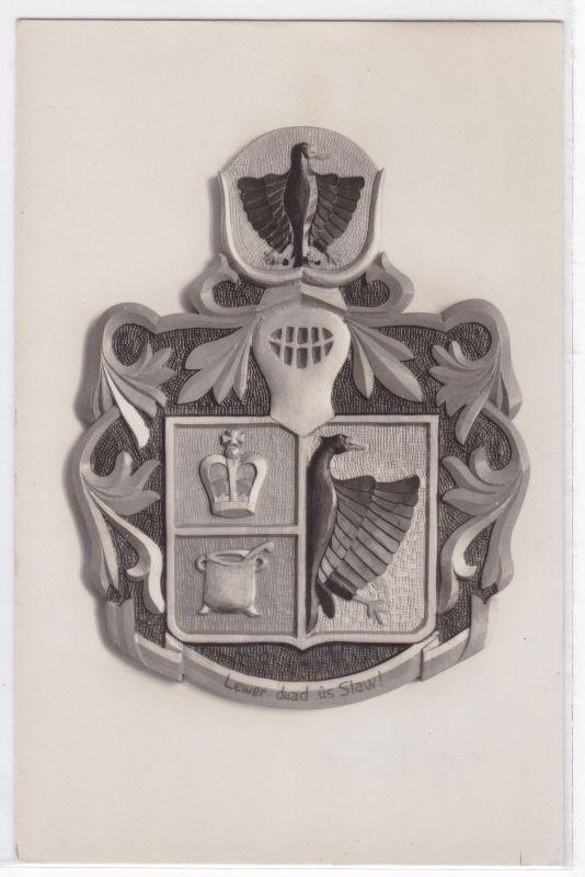 AK Heraldik Wappen Friesenwappen Friesland ungelaufen