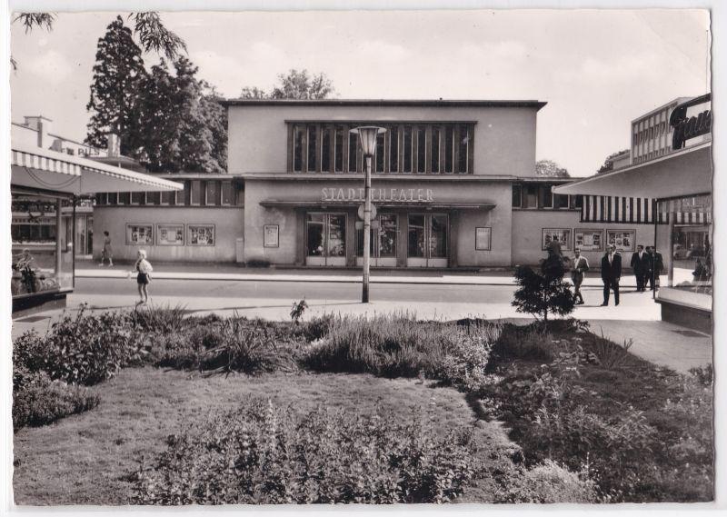 AK Bad Godesberg Stadttheater 1965 gelaufen