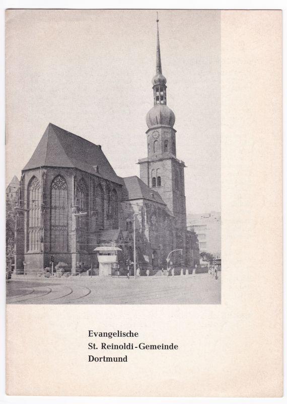 Evangelische St. Reinoldi-Gemeinde Dortmund. Gemeindebrief für ein neues Gemeindemitglied. St. Reinoldi-Gemeinde