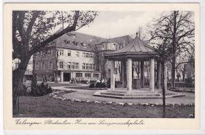 AK Erlangen Studenten-Haus am Langemarckplatz ungelaufen