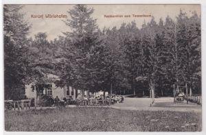 AK Kurort Wörishofen Restauration zum Tannenbaum 1913 gelaufen