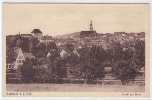 AK Sulzbach i. d. Opf. Ansicht von Süden ungelaufen
