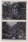 AK Schweizertal Bad Ems Restaurant und Pension Waldfrieden Inh. Albert Wolf Zweibildkarte 1939 gelaufen