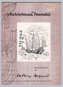 Chinesische Piratendschunke (Fooschow-Pfahl-Typ). Architektura Nawalis. Modellbauplan. Rekonstruiert von Karlheinz Marquardt. Alle drei Bögen sind vorhanden. Star models Marquardt, Karlheinz