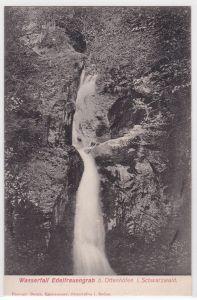 AK Wasserfall Edelfrauengrab Ottenhöfen Schwarzwald ungelaufen