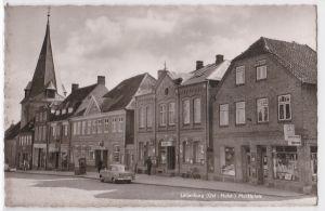 AK Lütjenburg Ost-Holst. Marktplatz ungelaufen