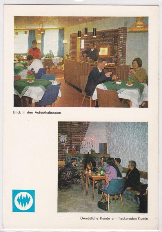 """AK Oerrel Lüneburger Heide DPWV-Erholungsheim """"Haus Niedersachsen"""" Zweibildkarte ungelaufen"""