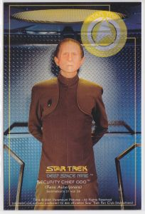 Star Trek Deep Space Nine Rene Auberjonois Security Chief Odo Sammelkarte D1 von D9