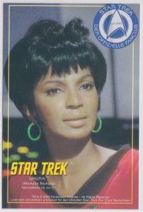 Star Trek Nichelle Nichols UHURA Sammelkarte C6 von C7