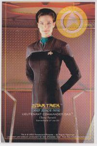 Star Trek Deep Space Nine Terry Farrell Lieutnant Commander Dax Sammelkarte D7 von D9