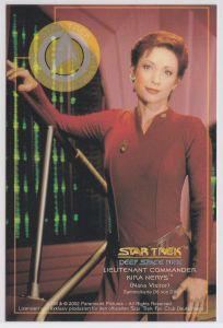Star Trek Deep Space Nine Nana Visitor Lieutnant Commander Kira Nerys Karte Sammelkarte D6 von D9