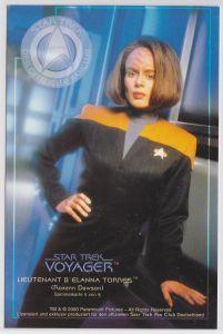 Star Trek Voyager Roxann Dawson Lieutnant B'Elanna Torres Sammelkarte 5 von 9