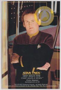 Star Trek Deep Space Nine Colm Meaney Chief Miles O'Brien Sammelkarte D4 von D9