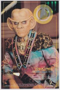 Star Trek Deep Space Nine Armin Shimermann QUARK Sammelkarte D3 von D9
