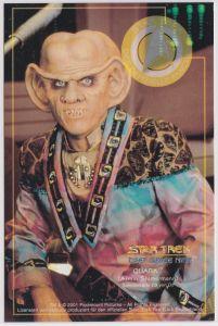 Star Trek Deep Space Nine Armin Shimermann QUARK Sammelkarte D3 von D9
