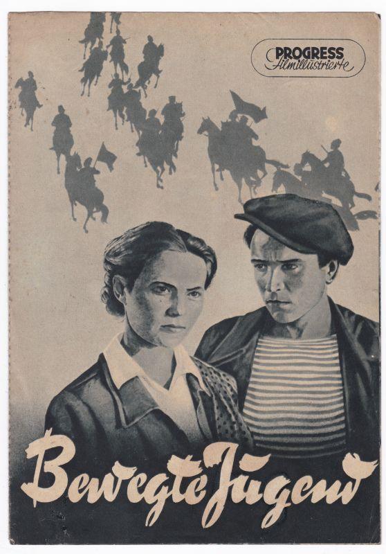 Progress Filmillustrierte Bewegte Jugend 6/56 Filmprogramm Susnin Gurso Kirst - Filmprogramm von 1956 - Reich bebildert und illustriert!