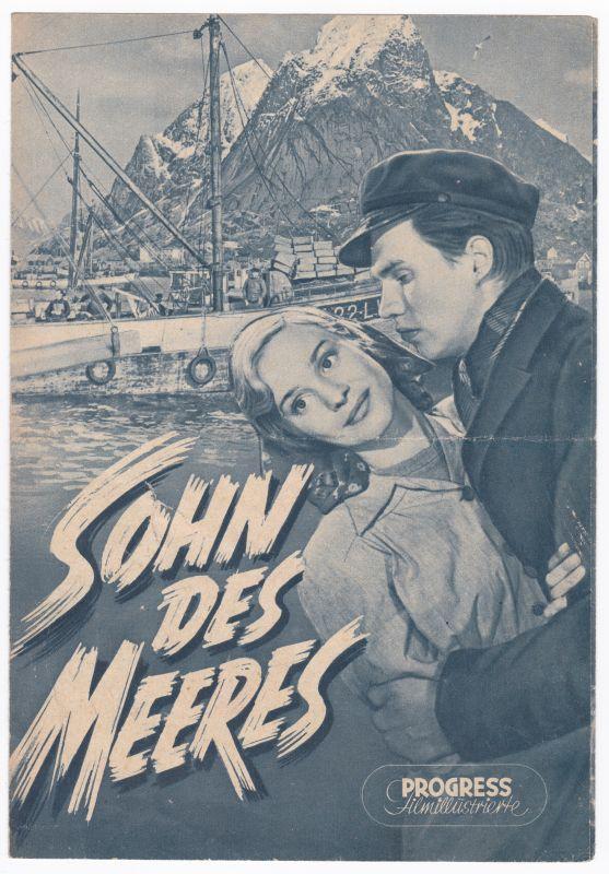 Progress Filmillustrierte Sohn des Meeres 35/55 Filmprogramm Per Oscarsson Lind - Filmprogramm von 1955 - Reich bebildert und illustriert!