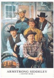Autogrammkarte Armstrong Siddeley Country Music signiert 5 Autogramme Remscheid