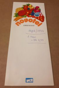 Speisenkarte - novotel AMIENS-EST - mehrsprachig (de,eng,frz) novotel Amiens