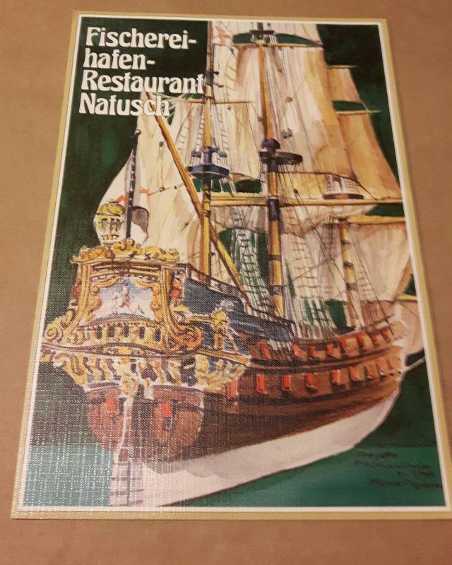 Speisenkarte - Fischereihafen-Restaurant Natusch - 2850 Bremerhaven - mehrsprachig (de,eng,frz) Natusch