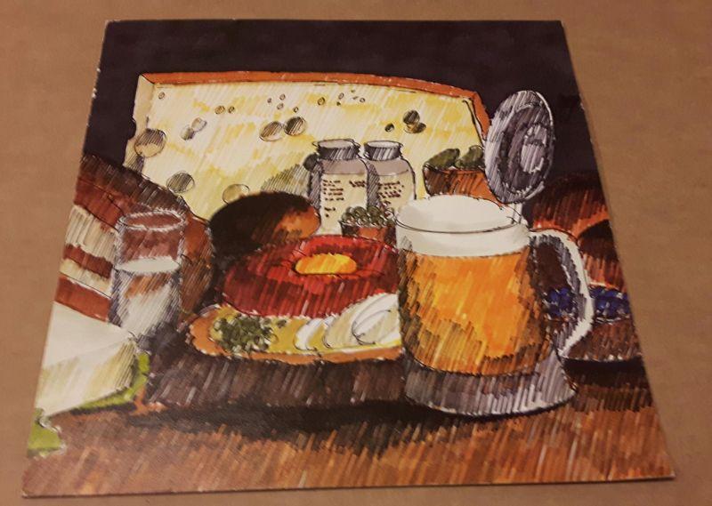 Speisenkarte - keine Getränke - Kur- und Sport-Hotel Hindelang Allgäu - Infos von handschriftl. Datierung entnommen, da sonst gar keine Nachweise vorhanden sind! Kur- und Sport-Hotel