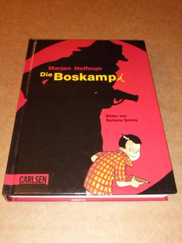 Die Boskampi - Bilder von Barbara Scholz - Aus dem Niederländischen von Rolf Erdorf Hoffman, Marjon