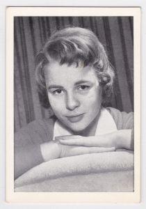 Sammelbild Starbild Conny Froboess dpa-Bild Musik Schauspielerin