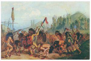 Sammelbild Europa-Bilderdienst Serie Unter Indianern Nr. 8 Indianer - Sammelbild - Europa-Bilderdienst - Serie: Unter Indianern Nr. 8 Bisontanz