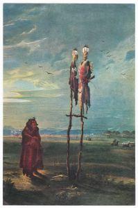Sammelbild Europa-Bilderdienst Serie Unter Indianern Nr. 22 Indianer - Sammelbild - Europa-Bilderdienst - Serie: Unter Indianern Nr. 22 Heilige Bündel