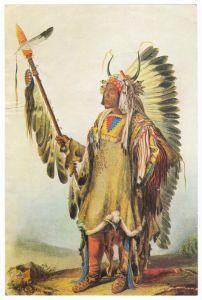Sammelbild Europa-Bilderdienst Serie Unter Indianern Nr. 4 Indianer - Sammelbild - Europa-Bilderdienst - Serie: Unter Indianern Nr. 4 Häuptling Mato-Tope