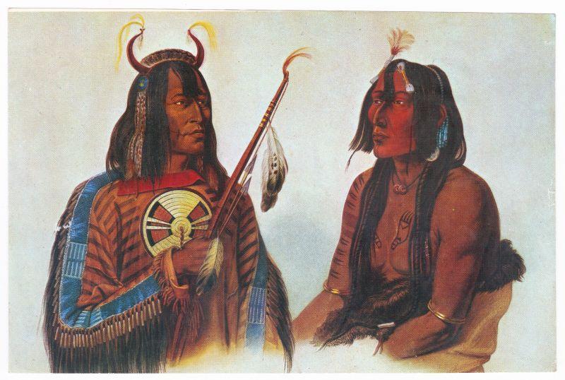 Sammelbild Europa-Bilderdienst Serie Unter Indianern Nr. 15 Indianer - Sammelbild - Europa-Bilderdienst - Serie: Unter Indianern Nr. 15 Zwei fremde Besucher