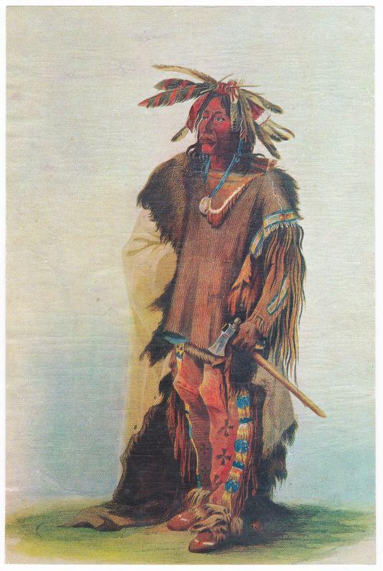 Sammelbild Europa-Bilderdienst Serie Unter Indianern Nr. 13 Indianer - Sammelbild - Europa-Bilderdienst - Serie: Unter Indianern Nr. 13 Bei den Dakota