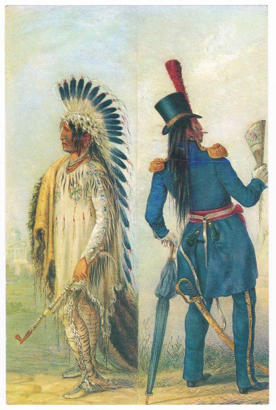 Sammelbild Europa-Bilderdienst Serie Unter Indianern Nr. 48 Indianer - Sammelbild - Europa-Bilderdienst - Serie: Unter Indianern Nr. 48 Wi-Jun-Jon