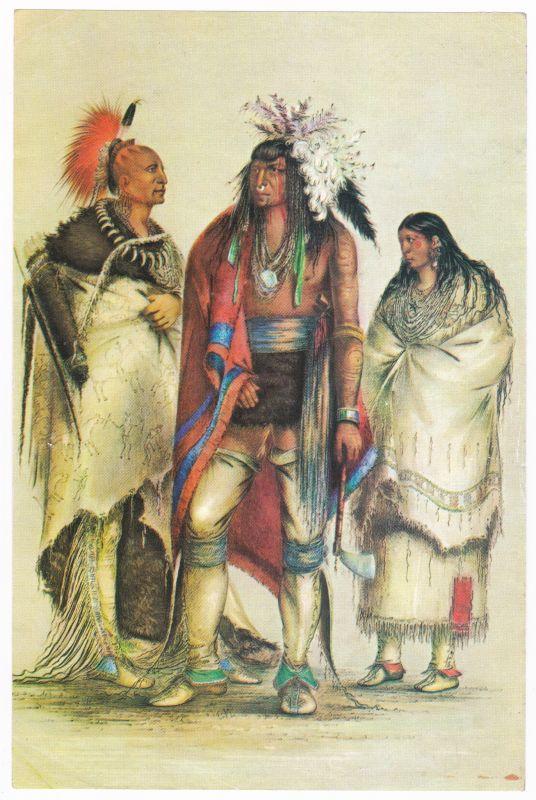 Sammelbild Europa-Bilderdienst Serie Unter Indianern Nr. 1 Indianer - Sammelbild - Europa-Bilderdienst - Serie: Unter Indianern Nr. 1 Drei Stämme - drei Typen
