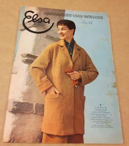 Elsa - Handarbeit und Wäsche - 10. Jahrgang 2/1957 - Heft 2 - erscheint monatlich - Mit passendem Arbeitsheft und dazugehörigem Schnittbogen Elsa (Hrsg.)