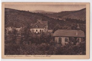 AK Geisweid in Westfalen Erholungsheim Patmos 1926 gelaufen