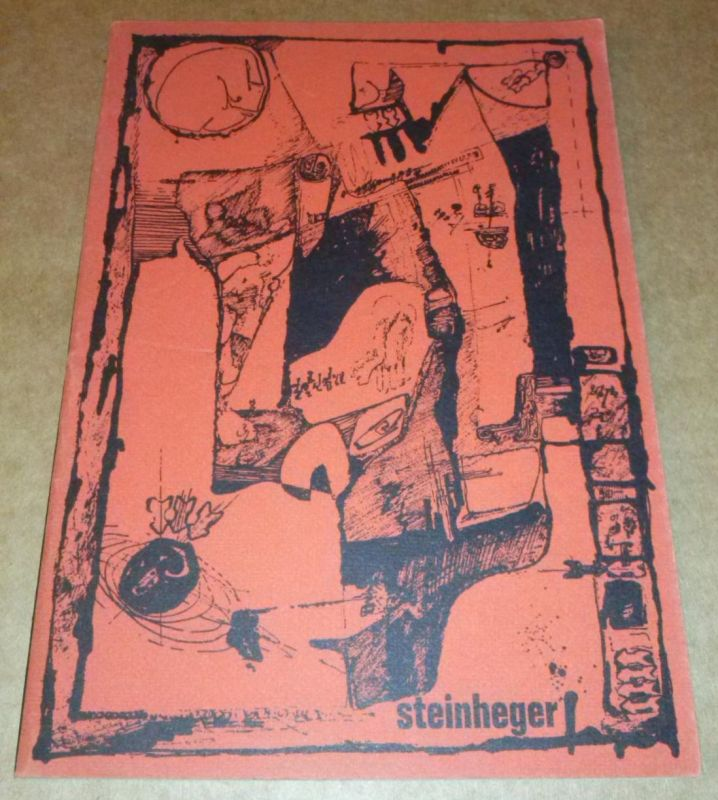 Steinheger Heft 6 März 1966 Schülerzeitung des Freiherr-vom-Stein Gymnasiums, Hamm - Mitglied der LAG Nordrhein-Westfalen Freiherr-vom-Stein Gymnasium Hamm (Hrsg.)
