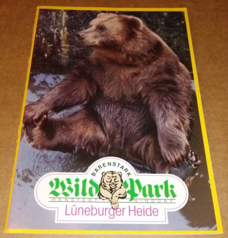 Wildpark Lüneburger Heide Karte.Wildpark Lüneburger Heide Hanstedt Nindorf Bärenstark Broschüre Mit Parkattraktionen Und Rundgang Anbei 2 Entwerte Eintrittskarten Des Parks