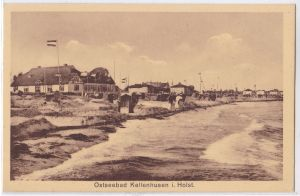 AK Ostseebad Kellenhusen in Holstein Strand alte Teilansicht ungelaufen