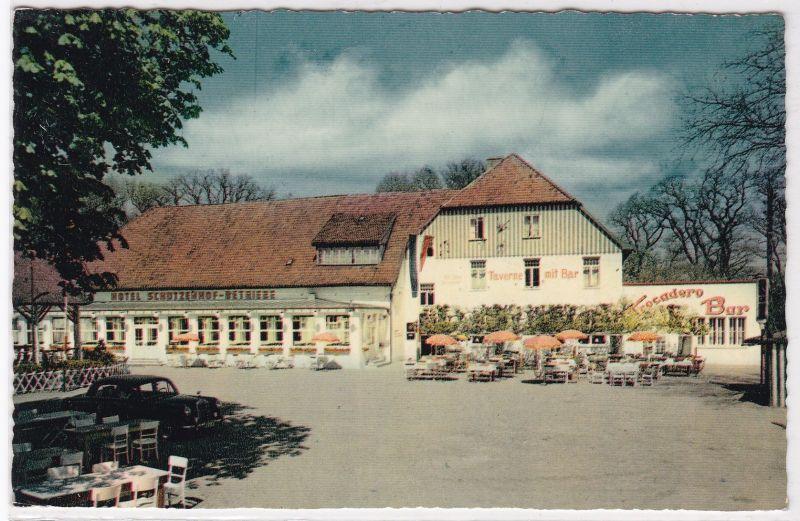 AK Mölln in Lauenburg, 200 Jahre Schützenhof-Betriebe, Inh. Hugo Buchholz 1959 gelaufen 0