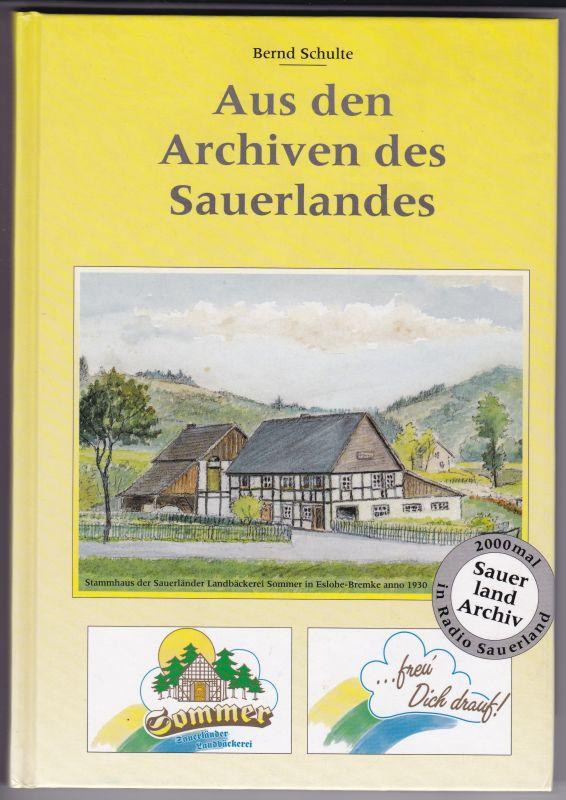 Aus den Archiven des Sauerlandes. Radio Sauerland und Sauerländer Landbäckerei Sommer. Auf der Schmutztitelseite hat Frau Marlies Sommer unter einem Foto+Vordrucktext signiert. Gering bebildert und illustriert. Einige Werbeanzeigen vorhanden.