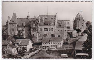 AK Alzey Rheinhessen Schloß 1966 gelaufen