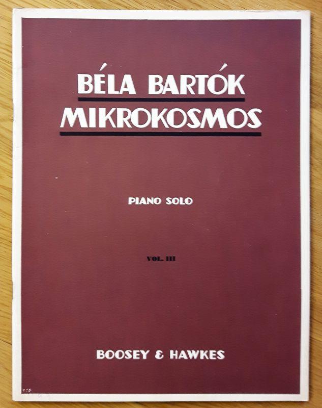 Winthrop Rogers Edition - Bela Bartok - Mikrokosmos - Piano Solo VOL. III. Klavierstücke, vom allerersten Anfang an. Deutsch, englisch, französisch. Noten und Übungen. 0