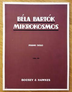 Winthrop Rogers Edition - Bela Bartok - Mikrokosmos - Piano Solo VOL. III. Klavierstücke, vom allerersten Anfang an. Deutsch, englisch, französisch. Noten und Übungen.