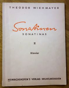 Sonatinen Sonatina II [Band 2, zwei] Klavier - Heinrichshofen 179 b. Nur Noten!