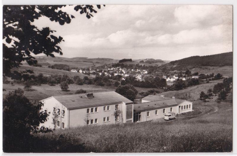 AK Schullandheim Berschweiler der Mittelschule in Neunkirchen Marpingen 1962 gelaufen