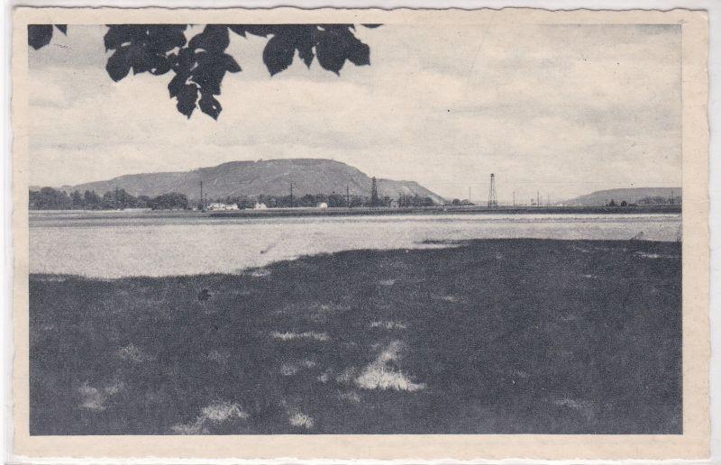 AK Blick auf Wallerfangen mit Limberg Saar Saartal 1961 gelaufen