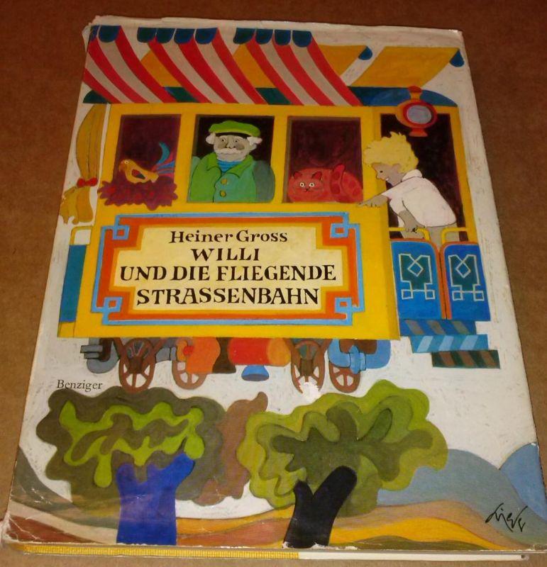 Willi und die fliegende Strassenbahn [Straßenbahn] - Illustrationen und Umschlag von Walter Grieder - Buchnummer: 22231044